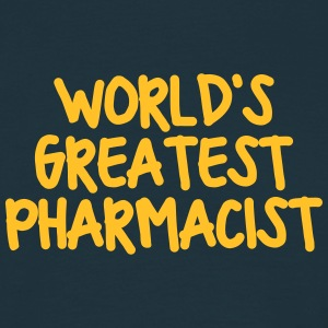 worlds greatest pharmacist - Men's T-Shirt