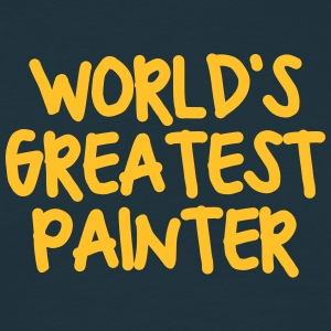 worlds greatest painter - Men's T-Shirt