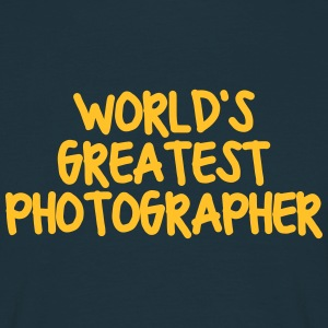 worlds greatest photographer - Men's T-Shirt