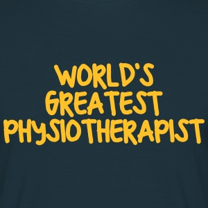 worlds greatest physiotherapist - Men's T-Shirt