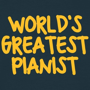 worlds greatest pianist - Men's T-Shirt