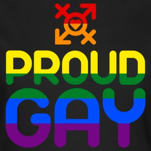 Proud Gay (bunt) T-Shirts - Frauen T-Shirt