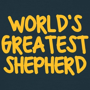 worlds greatest shepherd - Men's T-Shirt
