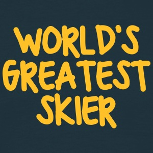 worlds greatest skier - Men's T-Shirt