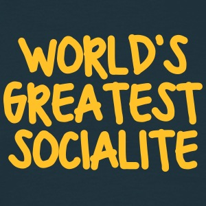 worlds greatest socialite - Men's T-Shirt
