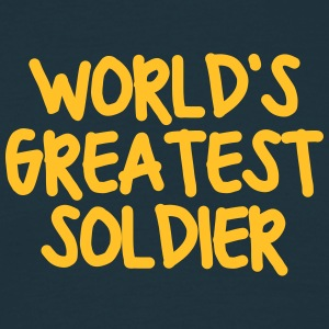 worlds greatest soldier - Men's T-Shirt