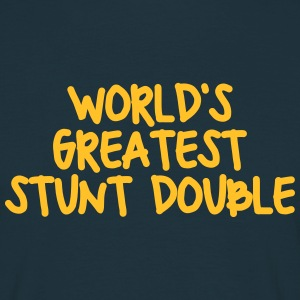 worlds greatest stunt double - Men's T-Shirt