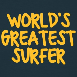 worlds greatest surfer - Men's T-Shirt