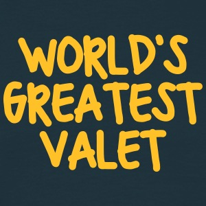 worlds greatest valet - Men's T-Shirt