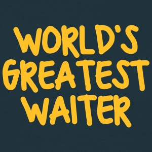 worlds greatest waiter - Men's T-Shirt
