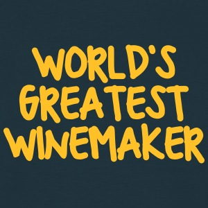 worlds greatest winemaker - Men's T-Shirt