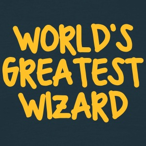 worlds greatest wizard - Men's T-Shirt
