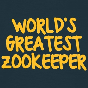 worlds greatest zookeeper - Men's T-Shirt