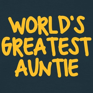 worlds greatest auntie - Men's T-Shirt