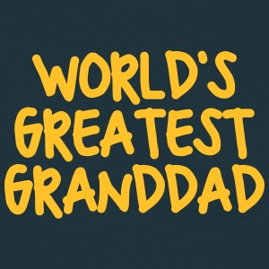worlds greatest granddad - Men's T-Shirt