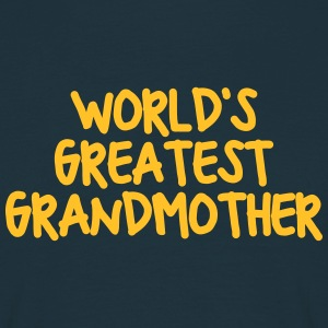 worlds greatest grandmother - Men's T-Shirt