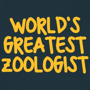 worlds greatest zoologist - Men's T-Shirt
