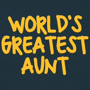 worlds greatest aunt - Men's T-Shirt