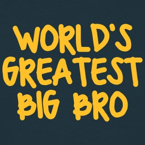 worlds greatest big bro - Men's T-Shirt