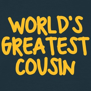 worlds greatest cousin - Men's T-Shirt