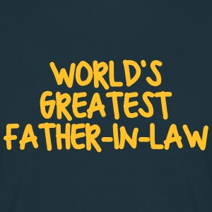worlds greatest fatherinlaw - Men's T-Shirt