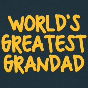 worlds greatest grandad - Men's T-Shirt
