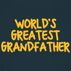 worlds greatest grandfather - Men's T-Shirt