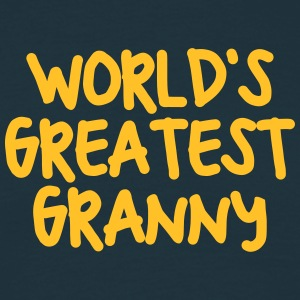 worlds greatest granny - Men's T-Shirt