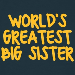 worlds greatest big sister - Men's T-Shirt