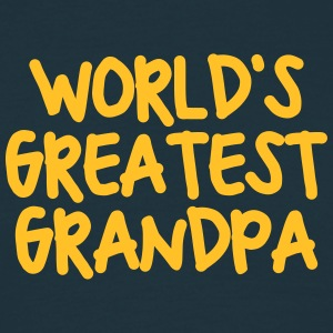 worlds greatest grandpa - Men's T-Shirt