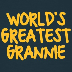 worlds greatest grannie - Men's T-Shirt