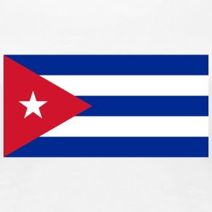 Nationale flag Cuba T-shirts - Dame premium T-shirt