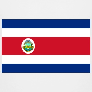 National Flag Costa Rica T-shirts - Teenager premium T-shirt