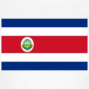 National Flag Costa Rica T-shirts - Dame-T-shirt