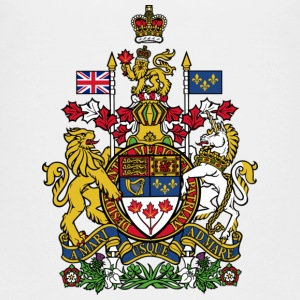 National Coat of Arms of Canada Shirts - Kids' Premium T-Shirt