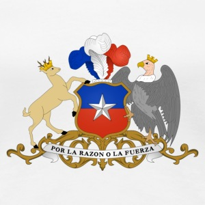 National coat of arms of Chile T-Shirts - Women's Premium T-Shirt