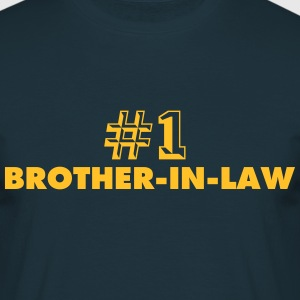 number one brotherinlaw - Men's T-Shirt