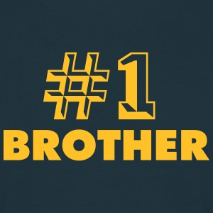 number one brother - Men's T-Shirt