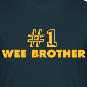 number one wee brother - Men's T-Shirt
