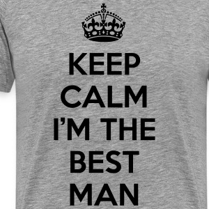 Kelp Calm Best Man T-skjorter - Premium T-skjorte for menn