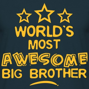 worlds most awesome big brother - Men's T-Shirt