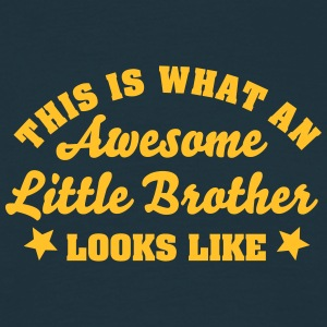 this is what an awesome little brother l - Men's T-Shirt
