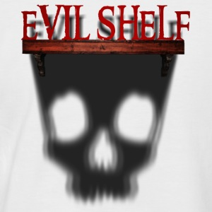 Evil Shelf - Men's Baseball T-Shirt