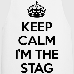 Keep Calm Stag   Aprons - Cooking Apron