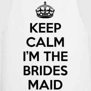 Keep Calm Bridesmaid  Forklæder - Forklæde
