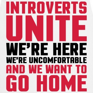 Introverts Unite   Aprons - Cooking Apron