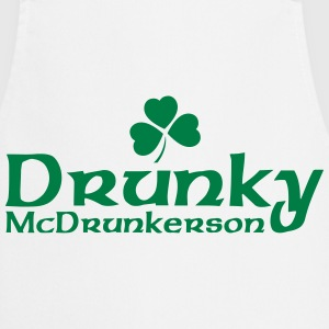 Drunky McDrunkerson  Aprons - Cooking Apron