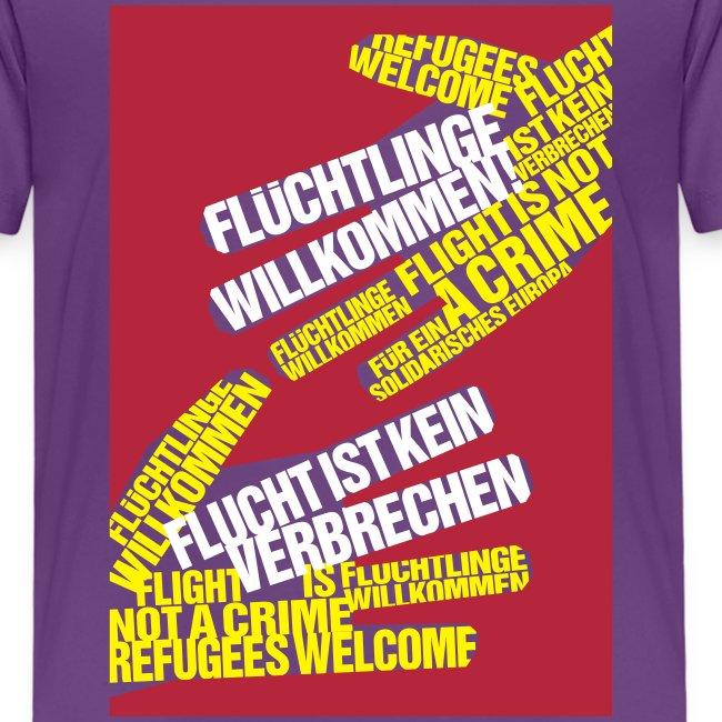 »Flüchtlinge Willkommen«