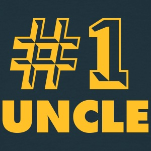 number one uncle - Men's T-Shirt
