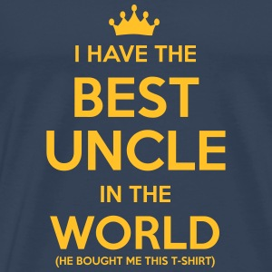 i have the best uncle in the world - Men's Premium T-Shirt